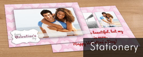Double Sided photo cards printed on premium stock paper