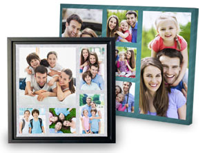 Framed Canvas Wall Art - turn your photo prints to canvas!