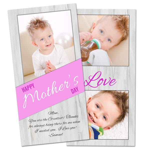 New double sided greeting cards for your Holiday Cards are sure to be loved by all.