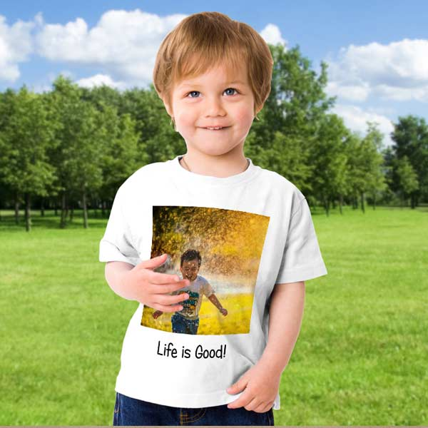 Create your own custom photo t-shirt and wear it around town showing off your style