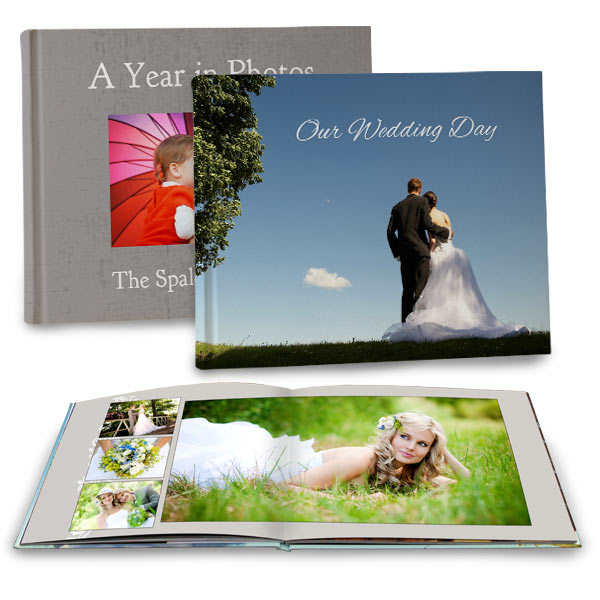 Custom Matte Cover Photo Books with beautiful full spread lay flat pages