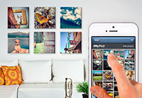 Easily transform your favorite Instagram photos into stunning prints, canvases and more!