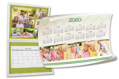 Custom photo calendars for 2018 make the perfect gift!