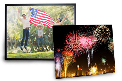 Pictures printed on beautiful canvas prints
