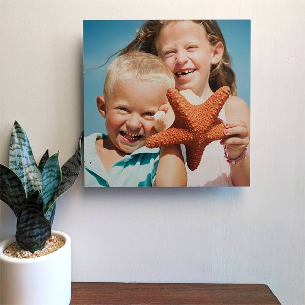 Fill your walls with square photo tiles perfect for your instagram photos and kids