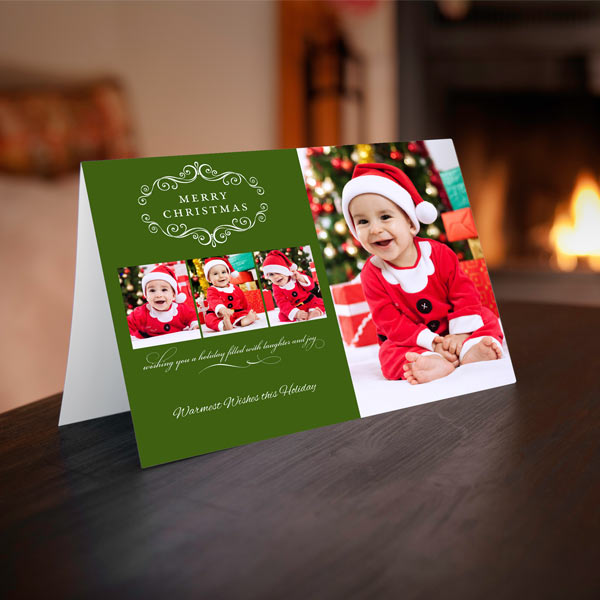 Examples Of Christmas Cards To Make: Custom Folding Greeting Cards