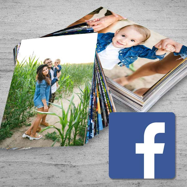 Print Facebook photos from MyPix2 and select from a variety of sizes and photo printing options.