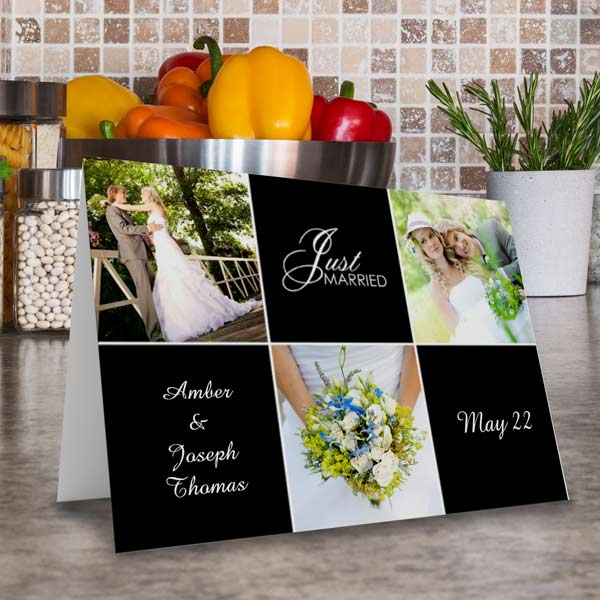 Create the perfect greeting, invitation or announcement with our folded photo cards.