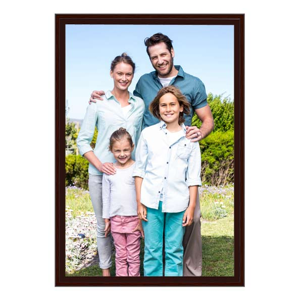 Decorate any room in your home with a splash of personality with our floating framed photo canvas.
