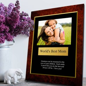 Award someone for something extraordinary with a personalized photo award plaque from MyPix2