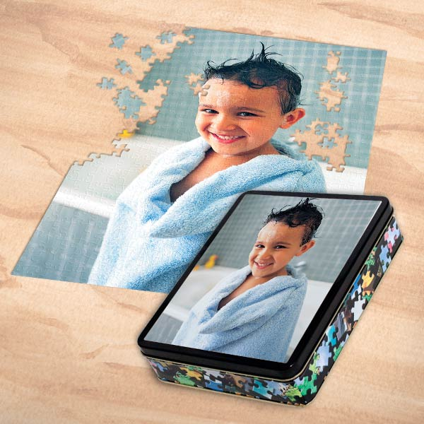 Transform any photo into a jigsaw puzzle for hours of fun on those rainy days at home.