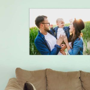 Create your own gallery style canvas photo art with MyPix2, perfect for home decor