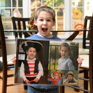 Use your own photos to design a custom laminated placemat, perfect for your dining décor.