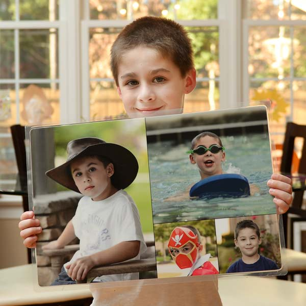 Create a placemat with a cherished picture and brighten up your dining table with beloved memories.