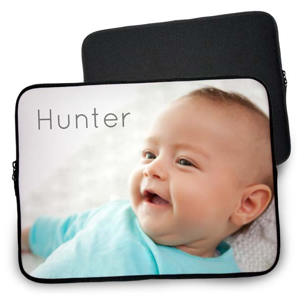 Protect your laptop in style and create own laptop case that displays your favorite photos.