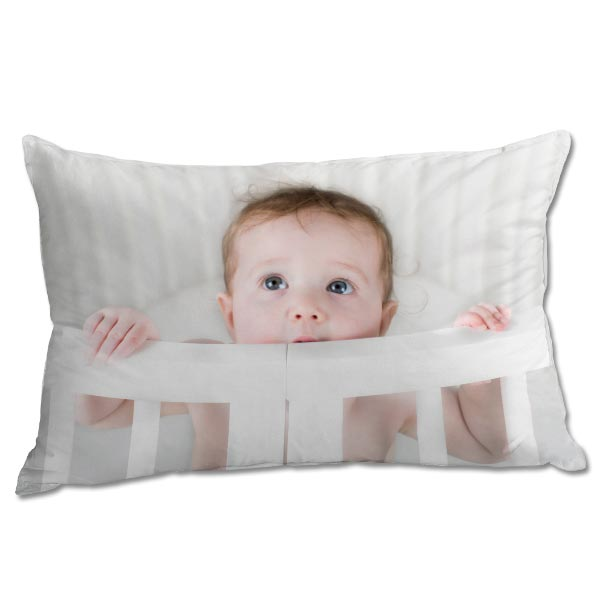 Decorate your bed with your favorite memories and create your own custom photo pillowcase.