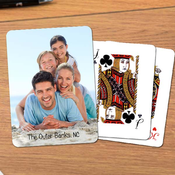Add your favorite memories to your own deck of playing cards for hours of fun with loved ones.