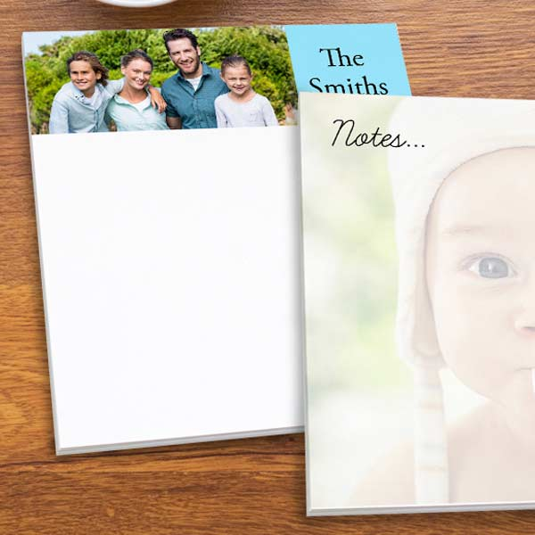 Personalized Photo Notepads with MyPix2