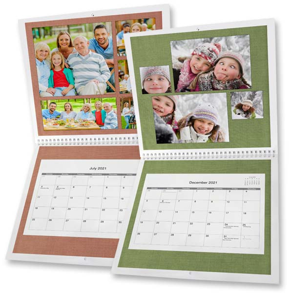 Create a beautiful calendar using your own photos with MyPix2 2021 Picture Calendars