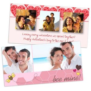 Perfect for the one you love, create a custom Valentine's greeting with MyPix2