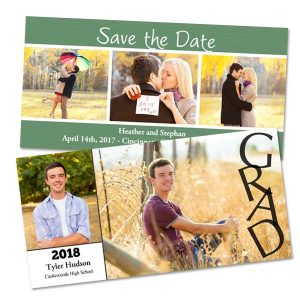 Create beautiful photo cards for your Graduation and special event with MyPix2 Custom Greetings
