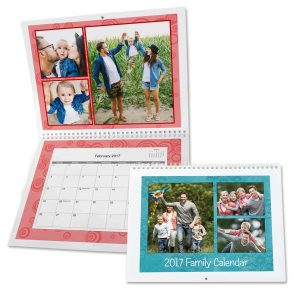 Create your own wall calendars with MyPix2, our spiral bound calendar makes a great year round gift