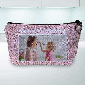 Create your own accessory pouch for travel, cords, or make up