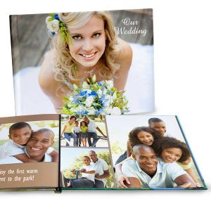 Create a beautiful lay flat 11x14 photo book for your favorite pictures