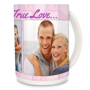 Custom photo mug for a gift or for daily use