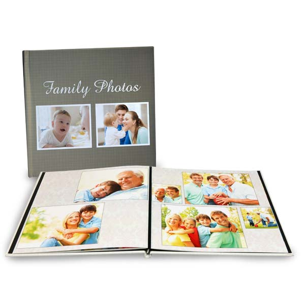 High quality 8x8 photo books with lay flat pages make a great gift for anyone