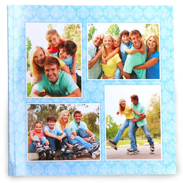 Create a personalized photo book using your own photos