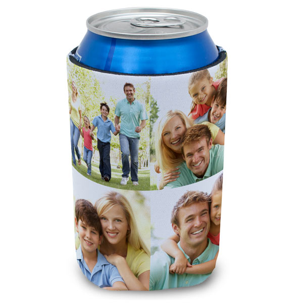 Create a custom can koozie to keep your drink cold