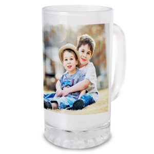 Create a custom stein for dad with MyPix2 personalized drink steins