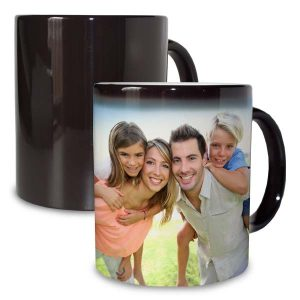 Add your own photos and create a color changing magic mug