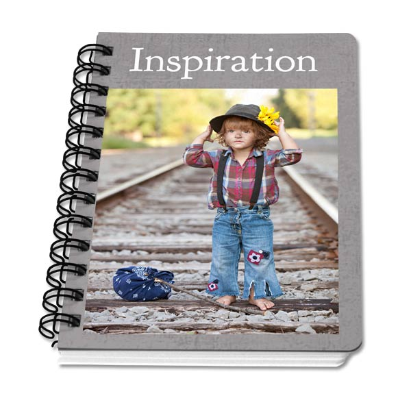 You can create a personalized notebook for any use, great for around the house, the office or for the kids