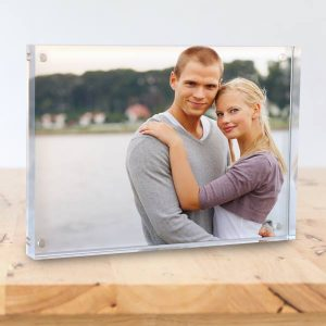 Display your photo with a modern acrylic block print