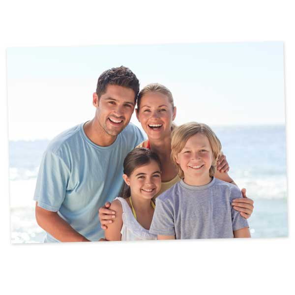 Turn your family portrait into a beautiful 11x14 photo enlargement