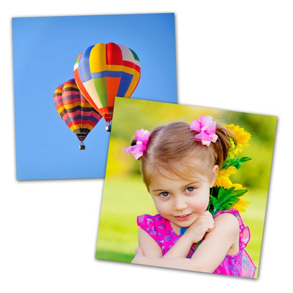 Create prints from photos stored in your instagram account with MyPix2 prints available in size 5x5
