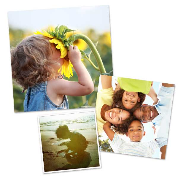 Order your square prints on MyPix2, we offer multiple sizes perfect for your instagram photos