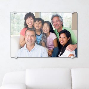 Turn your photo into a modern work of art printed on glossy acrylic