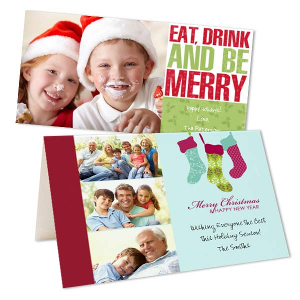 Create your own Christmas Cards with MyPix2 Holiday and Christmas designs