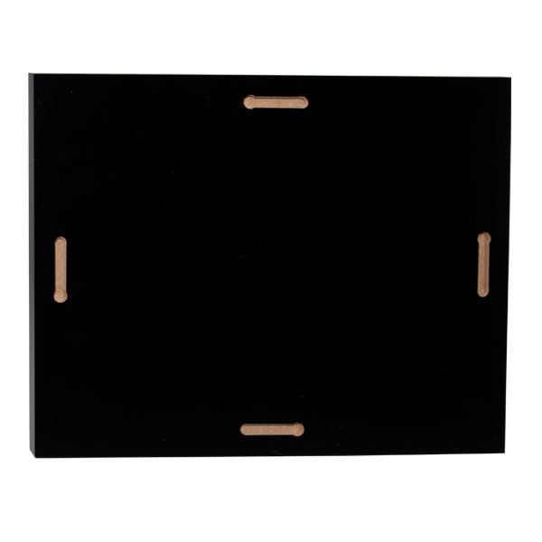 Each quality panel includes hanging holes on the back for any orientation