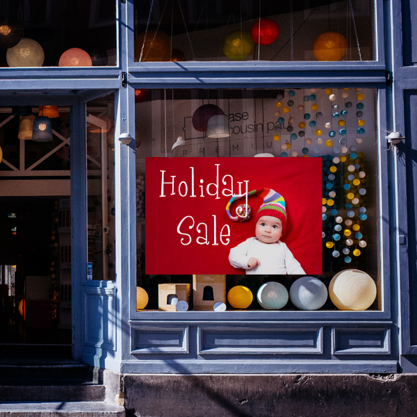 Create seasonal window clings you can re-use each year