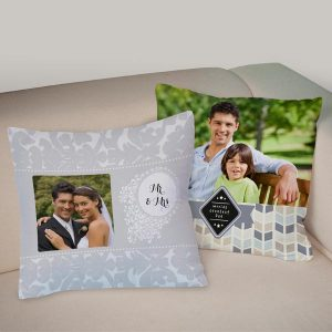 Create your own decor with custom photo pillows from MyPix2