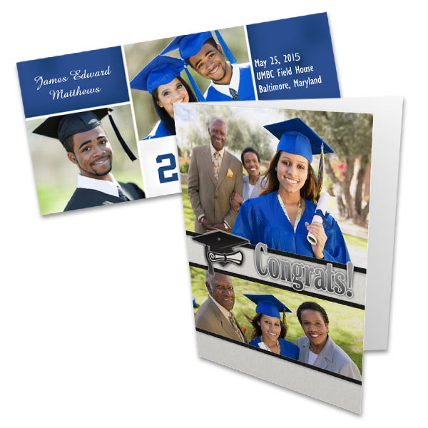 Create custom graduation announcements and invitations with MyPix 2 Graduation Cards