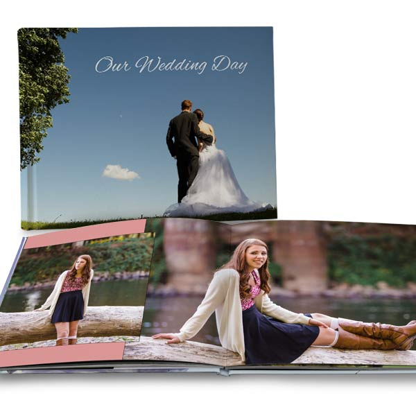Create your own coffee table book with MyPix2 large 11x14 photo books