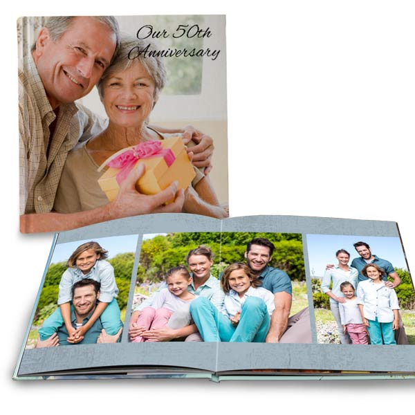 Customize your own photo book with MyPix2 ultra lay flat books with quality page printing