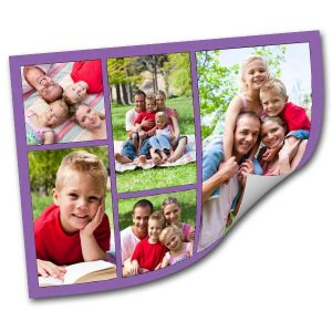 Create a photo collage that can peel and re-stick to any surface with MyPix2