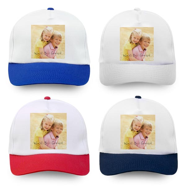 Create a custom baseball cap and give a gift that can be enjoyed time and time again