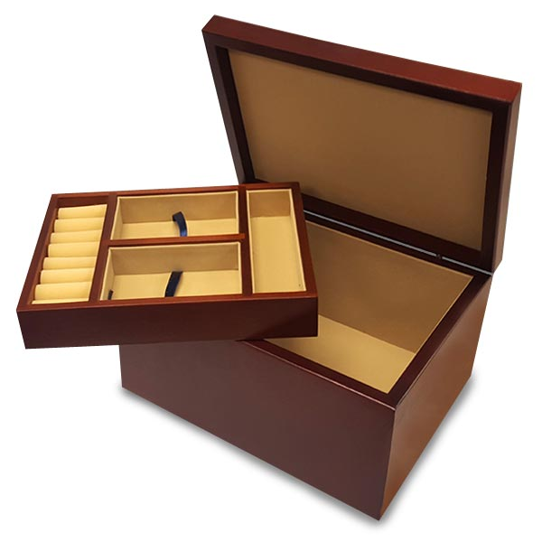 Personalize a jewelry box for mom as a gift she will love for years